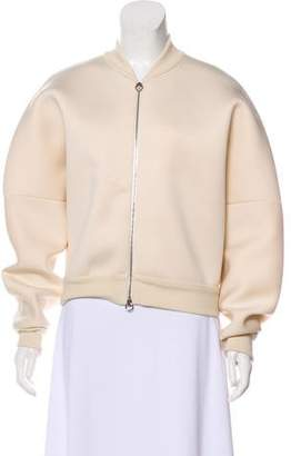 Stella McCartney Neoprene Bomber Jacket