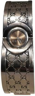 Gucci Twirl Grey Steel Watches