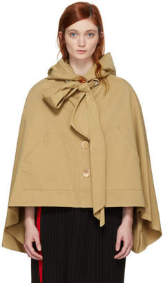 See by Chloe Brown Desert Bow Cape