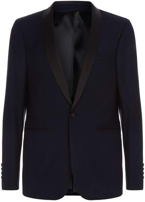 Sandro Jacquard Tuxedo Jacket
