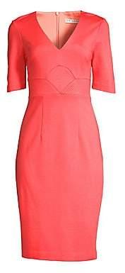 Trina Turk Women's Ashton Ponte Midi Dress