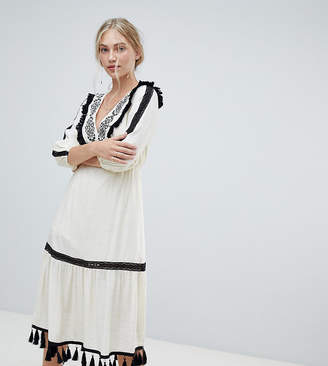 Stevie May Exclusive Charo embroidered midi dress