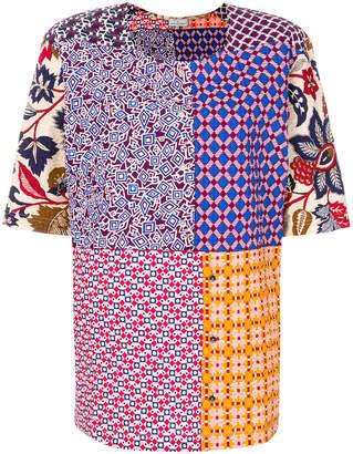Pierre Louis Mascia Pierre-Louis Mascia patch-work T-shirt