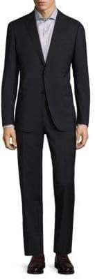 Armani Collezioni Modern Fit Solid Wool Suit