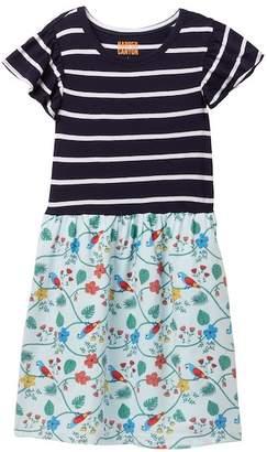 Harper Canyon Mixed Media Dress (Little Girls & Big Girls)