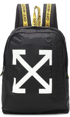 Off-White Off White Printed nylon backpack