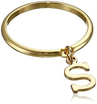 "A.V. Max Dangle Initial ""S"" Ring"