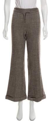 Diane von Furstenberg Mid-Rise Flared Pants
