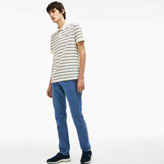 Lacoste Men's Slim Fit 5-Pocket Twill Pants