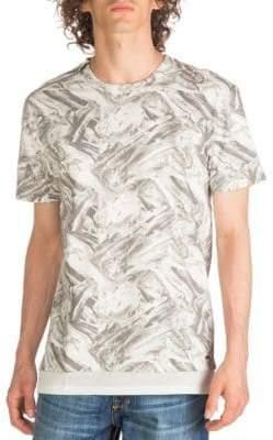 GUESS Cyrus Terry Longline T-Shirt
