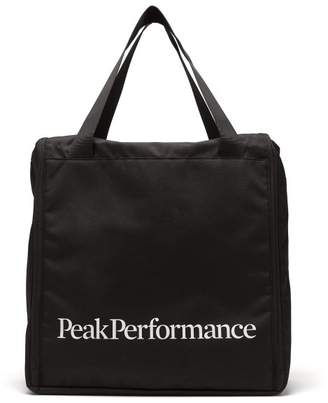 Peak Performance Logo Print Boot Bag - Mens - Black