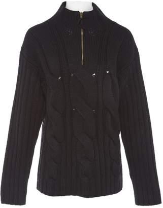 Jean Paul Gaultier Black Wool Knitwear & Sweatshirts