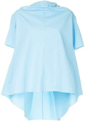 Marni bow-tied short sleeve blouse