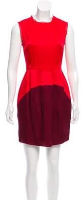 O'2nd Two-Tone Mini Dress