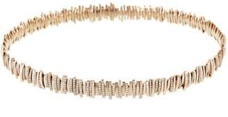 Suzanne Kalan White Diamond Pavé Choker Necklace - Rose Gold
