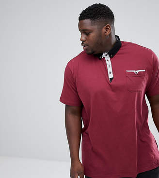 Duke King Size Polo Shirt with Contrast Collar