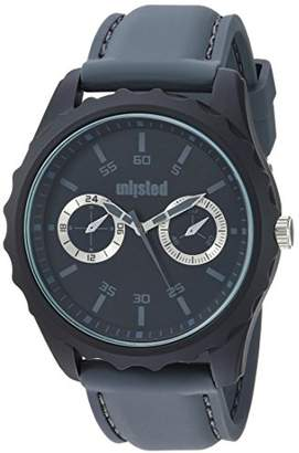 Kenneth Cole Unlisted Watches Men's 10031978 Sport Analog Display Analog Quartz Grey Watch