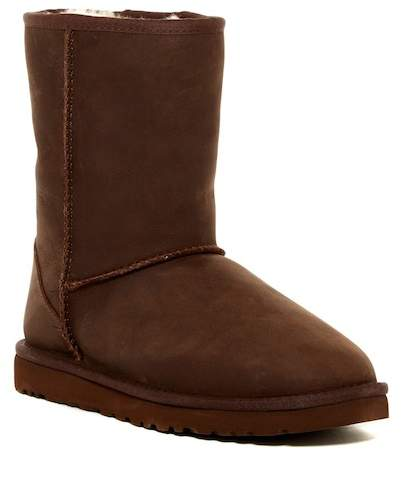 UGG UGG Australia Classic Short Leather UGGpure(TM) Lined Boot