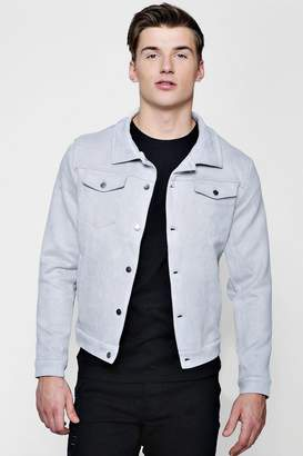 boohoo Suedette Western Jacket