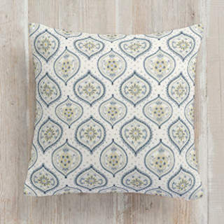 Shapely Florals Self-Launch Square Pillows