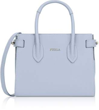 Furla Saffiano Leather Pin Mini Tote Bag