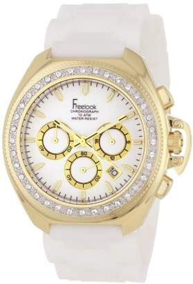 Freelook Women's HA6303G-9X Aquamarina III /Gold Swarovski Silicone Watch