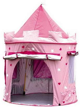 Little Ella James Deluxe Pink Castle Play Tent
