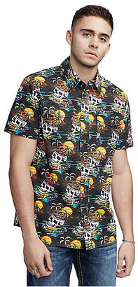 True Religion SKULL WAVE UTLITY SHIRT