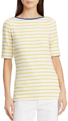 Ralph Lauren Striped Boat Neck Tee