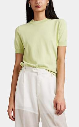 Maison Margiela Women's Fine-Gauge Knit T-Shirt - Lt. Green