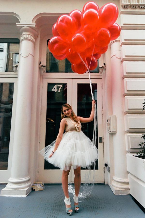 Ooh! La Ooh La Loft Silk and Tulle Ballet Dress