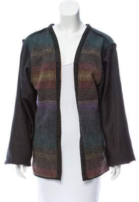 Woolrich Striped Knit Cardigan