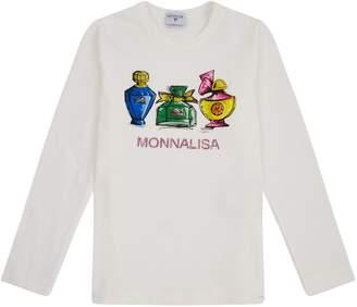 MonnaLisa Perfume Print T-Shirt