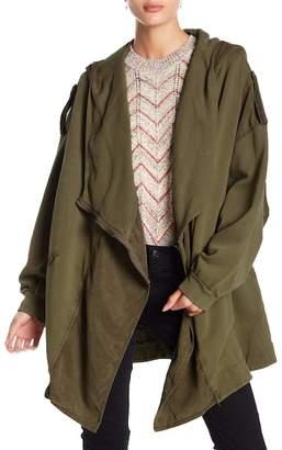Free People C'mon Hooded Cardigan