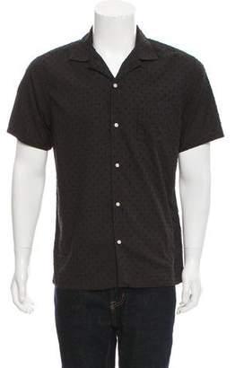Officine Generale Short Sleeve Button-Up Shirt