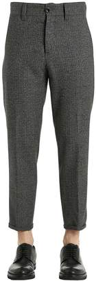 Pt01 20cm Wool Houndstooth Pants
