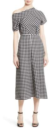 Rachel Comey Pout One-Shoulder Midi Dress