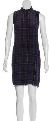 Jenni Kayne Silk Button-Up Dress