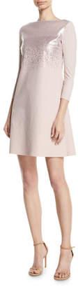 Chiara Boni Tandie Metallic Mini Dress
