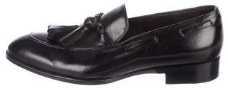 Max Verre Leather Tasssel Loafers