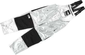 Supreme TNF Metallic Mountain Bib Pant - 'SS 18' - Silver