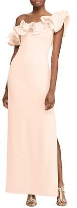 Ralph Lauren Ruffled One-Shoulder Gown - 100% Exclusive