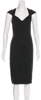Michael Kors Jacquard Midi Dress