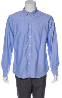 Supreme Point Collar Button-Up Shirt