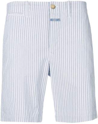 Closed striped shorts