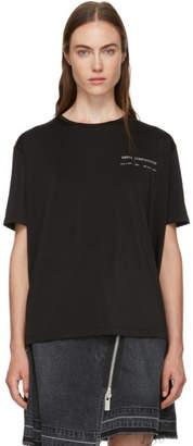 Maison Margiela Black Organzine Jersey T-Shirt