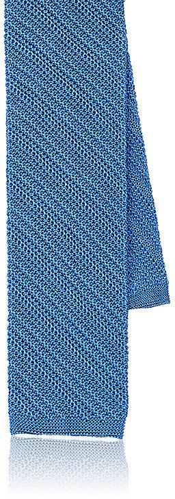 Barneys New YorkBarneys New York Men's Square-Tip Silk Necktie