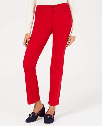 Charter Club Petite Lexington Straight-Leg Jeans