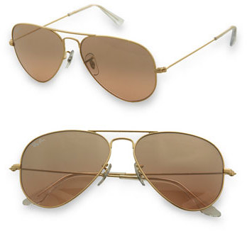 Women's Ray-Ban 'Original Aviator' 58Mm Sunglasses - Gold