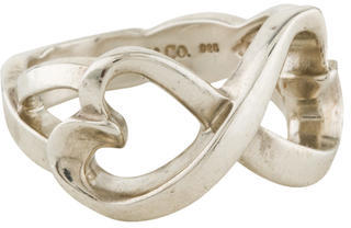 Tiffany & Co. Double Loving Heart Ring $95 thestylecure.com